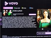 Voyo ve VieraConnect TV Panasonic - výběr filmu