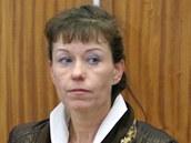 Soudní znalkyně Hana Martínková u olomouckého okresního soudu, kde čelí