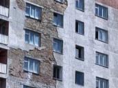 Fasáda domu v Pripjati