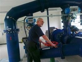 Malá vodní elektrárna - úpravna vody Vyšní Lhoty1