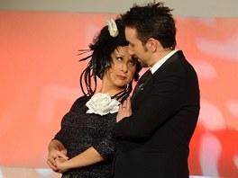 Nominační večer filmových cen uváděla v sobotu 4. února v Praze dvojice Ester