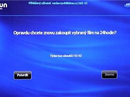 Topfun na Smart TV Samsung - platba