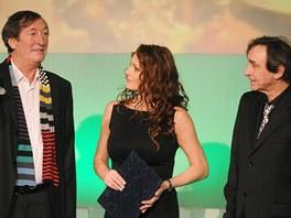 Nominační večer Českých lvů 2011: Bolek Polívka, Markéta Hrubešová, Ondřej
