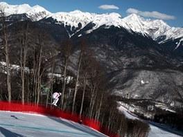 Dějiště sjezdařských soutěží příští zimní olympiády v Roza Chutor.