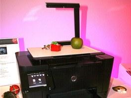 Tiskárna HP TopShot LaserJet Pro M275 se skenerem reálných předmětů