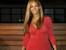 Beyoncé měsíc po porodu (únor 2012)