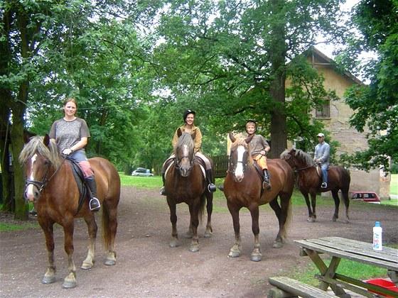 Dovolená v přírodě a v koňském sedle