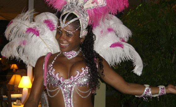 Do Kourou za námi přijel i klasický jihoamerický karneval.