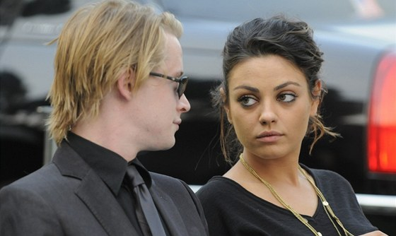 Macaulay Culkin a Mila Kunisov