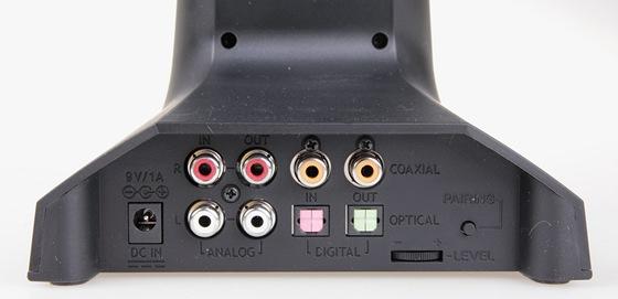 Sennheiser RS220 - připojná místa