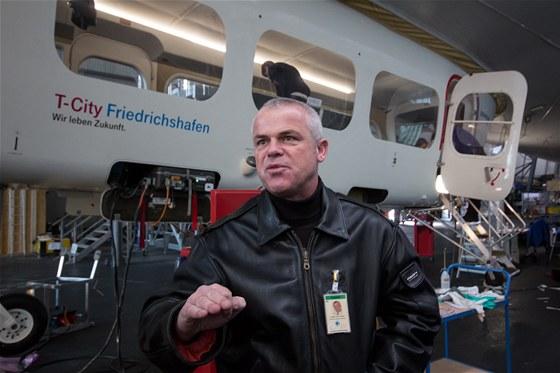 Pilot vzducholodí Zeppelin NT, Günther Hans-Friedrich