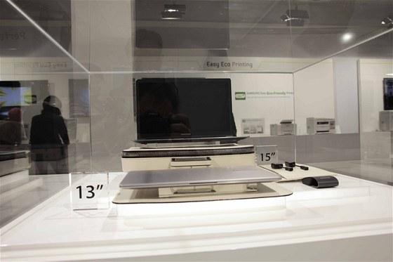 Notebooky Samsung řady Série 9 zatím firma nabízí v provedení 15 a 13 palců.