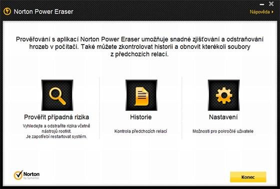 Přenosný antivir Norton Power Eraser není třeba instalovat, program vždy před