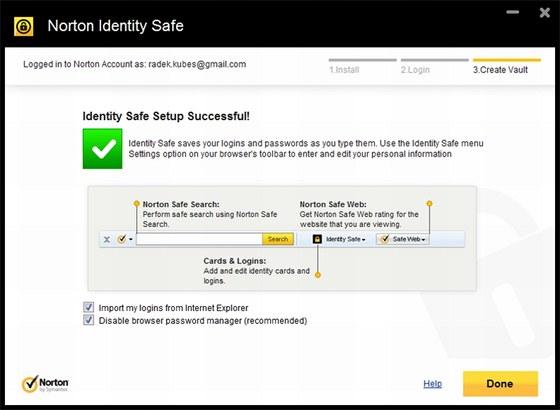 Norton Identity Safe poskytne spolehlivou ochranu všem údajům, které opakovaně