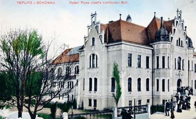 Secesní lázn� z roku 1908 slou�ily v Teplicích svému ú�elu je�t� po�átkem 90.
