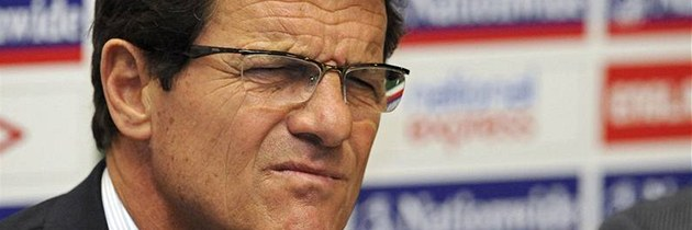 Italsk&#253; tren&#233;r anglick&#233; reprezentace Fabio Capello