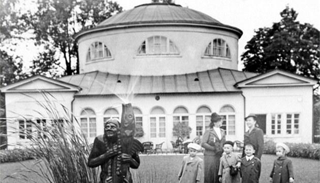 Olomoucká m욝anské st�elnice po úprav� za protektorátu v letech 1939-1940....