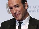 Britské ceny BAFTA - herec Jean Dujardin z filmu Umělec s cenou pro nejlepšího...