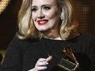 Grammy 2012 - Adele s Grammy za Nejlepší popové sólo vystoupení(Los Angeles,
