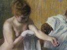 Edgar Degas: Žena ve vaně (Tate, odkázala  A.F. Kesslerová, 1983)