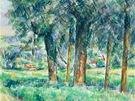 Paul Cézanne: Stromořadí (1877-80, soukromá sbírka)