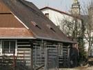 Roubenka v centru Hradce Králové, která musela v roce 2006 ustoupit kvůli
