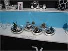 """""""Kaktusy"""" od Atika Léviho patřily na Ambiente na stánku firmy Verreum k"""