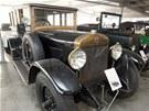Vůz Laurin a Klement z roku 1920 v Muzeu aut podnikatele a sběratele Ladislava