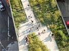 Krajinářský architekt James Corner vytvořil v New Yorku na střeše podchodu