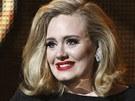 Adele na ud�len� cen Grammy (12. �nora 2012)