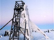 Vyhlídková věž na Velké Deštné v roce 2008