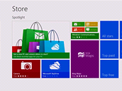 Windows Store je centrem všech Metro aplikací a zároveň i jedinou cestou, jak