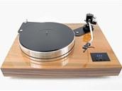 Jeden z gramofonů vyrobených firmou SEV Litovel.