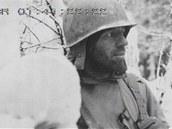 Vyčerpaní muži bránící Bastogne