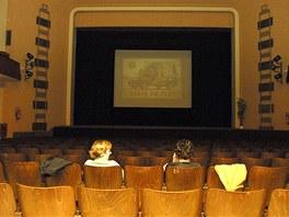 Interiér plzeňského kina Elektra