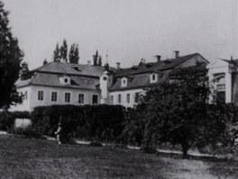 Barokní zámek Plandry.