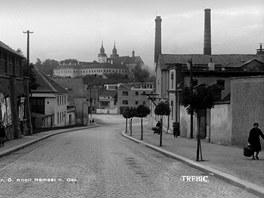 Pivovar v Třebíči.