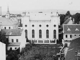 Židovská synagoga v jihlavské Benešově ulici.