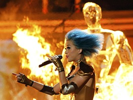 Grammy 2012 -  Katy Perry (Los Angeles, 12. února 2012)
