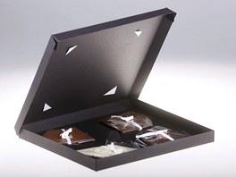 Čokoládový Valentýn - zlomky kvalitní hořké čokolády