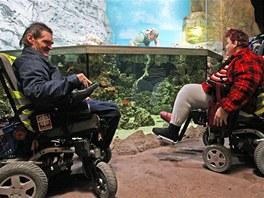 Vozíčkáři si prohlédli ostravskou zoologickou zahradu.