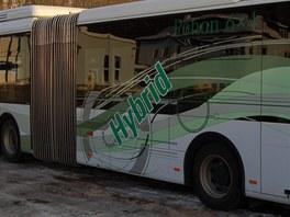 Hybridní kloubový autobus Mercedes Benz Citaro G BlueTec Hybrid