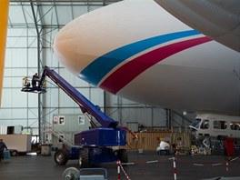 Hangár Zeppelin vzducholodí ve Friedrichshafenu