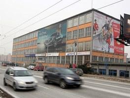 Budova číslo 91 v areálu bývalých baťovských továren ve Zlíně, kterou hodlá