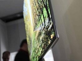 Super OLED televizor Samsung má tenký profil a obraz jako živý