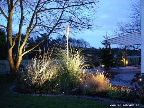 zahradní osvětlení