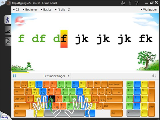 Rapid Typing Tutor