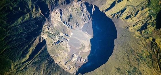Kaldera sopky Tambora