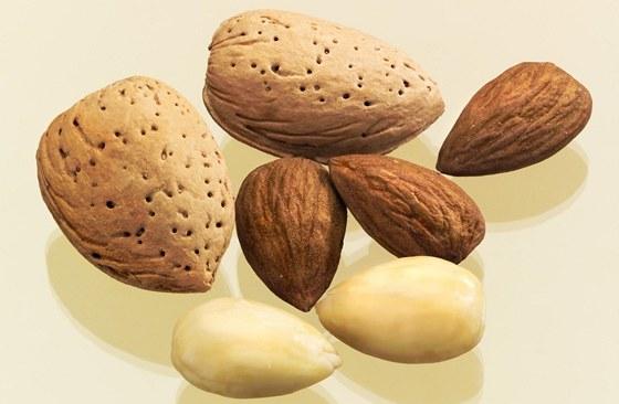 Mandle - Mandle, ale i další ořechy a semínka jsou velmi dobrým zdrojem