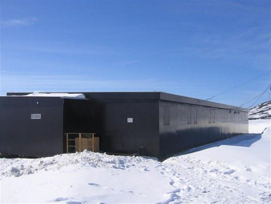 Vědecká polární stanice po dokončení